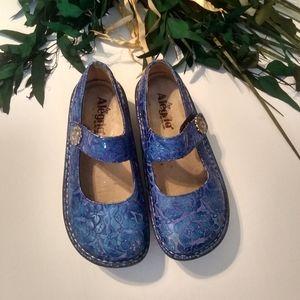 Alegria Paloma Blue Etched size 35